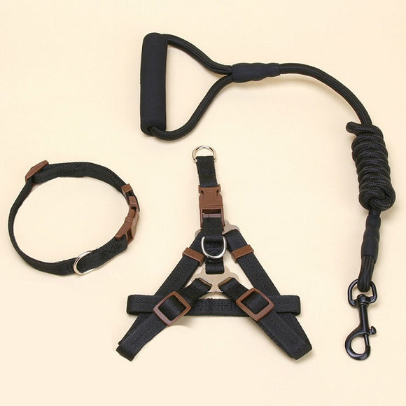 3-in-1 Dog Harness, Leash and Collar Set - SaveOnn Cart