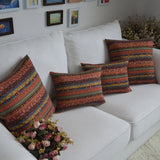 Vintage Bohemian Style 100% Cotton Decorative Throw Pillow Case - SaveOnn Cart