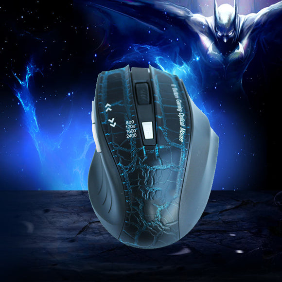 Best Selling 2.4 GHz Wireless Optical Gaming Mouse 6 Buttons  For Tablet Laptop PC