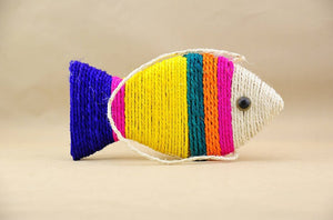 Sisal Fish Pet Toy - SaveOnn Cart
