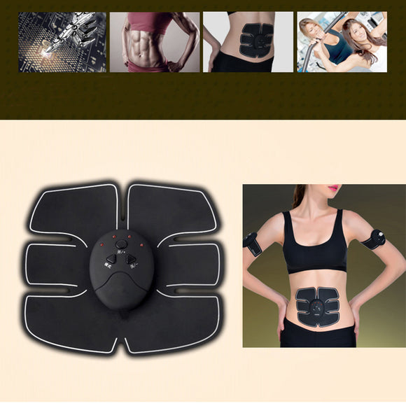 Body Slimming Abdominal Fitness Shaper Wireless Electric Muscle Stimulator