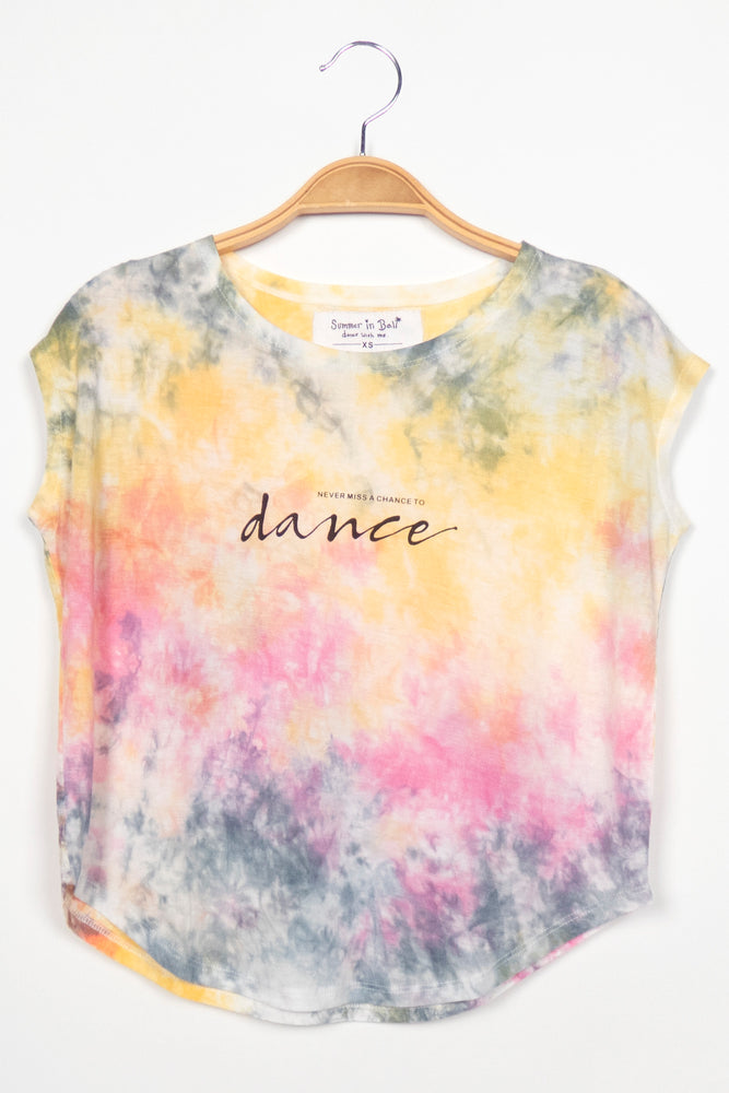 T-shirt Never Miss a Change to Dance