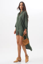 Blouse Night Army Green