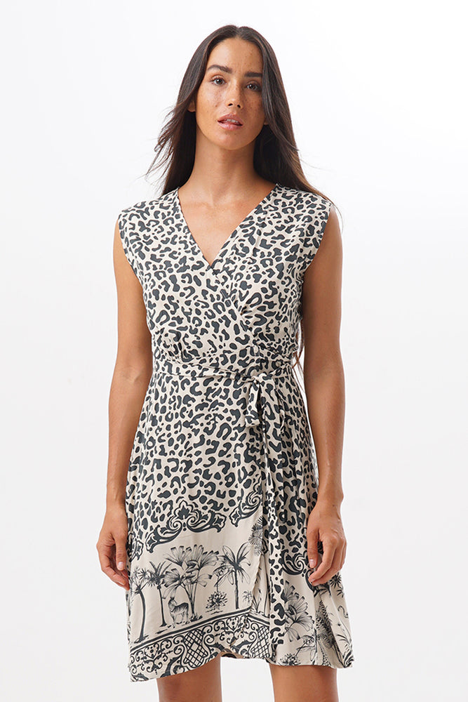 Dress People Savana Leopard