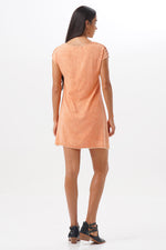 Dress Uki Orange Stonewash