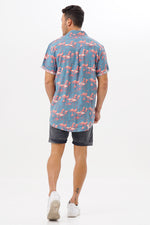 Shirt Flamingo Mirror