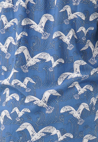 Shirt Long Sleeve Surf Bird