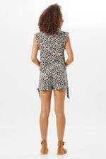 Short Set Savana Leopard