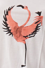 Top Rowcut Yoga Flamingo