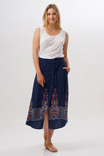 Midi Skirt Archi Swedish Embroidery