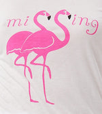T-Shirt Dew Twin Flamingo