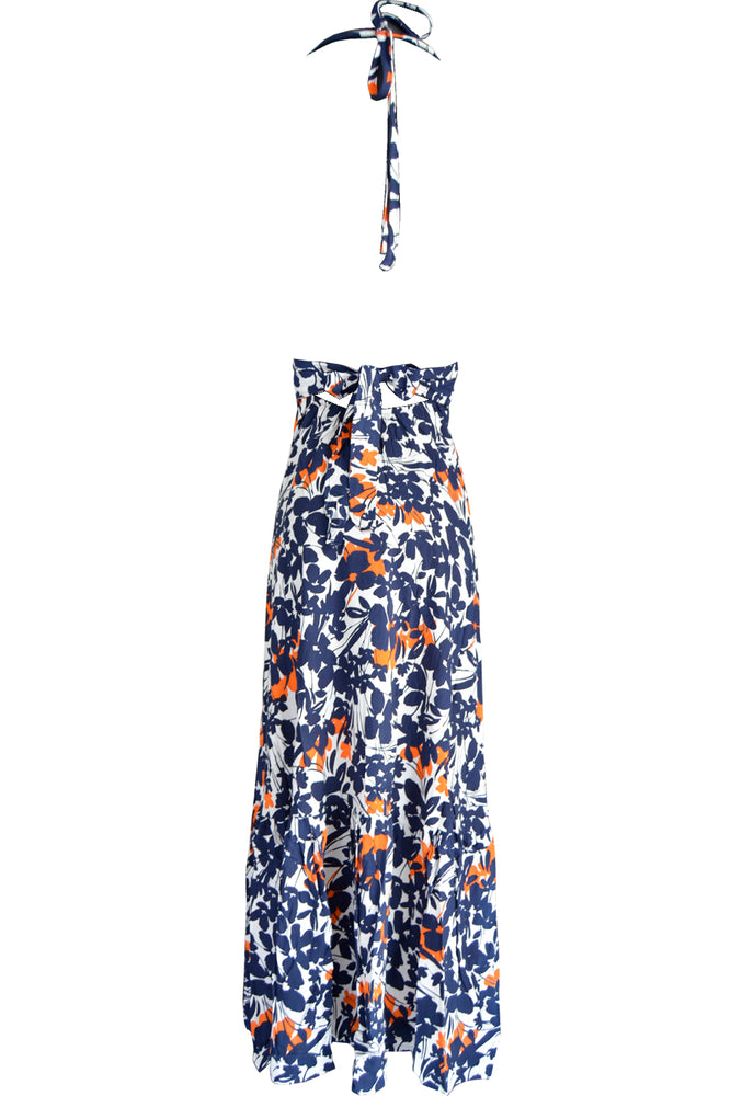 Dress Monic Abstract Flower