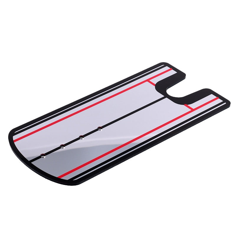 Portable Putting Mirror Alignment Training Aid