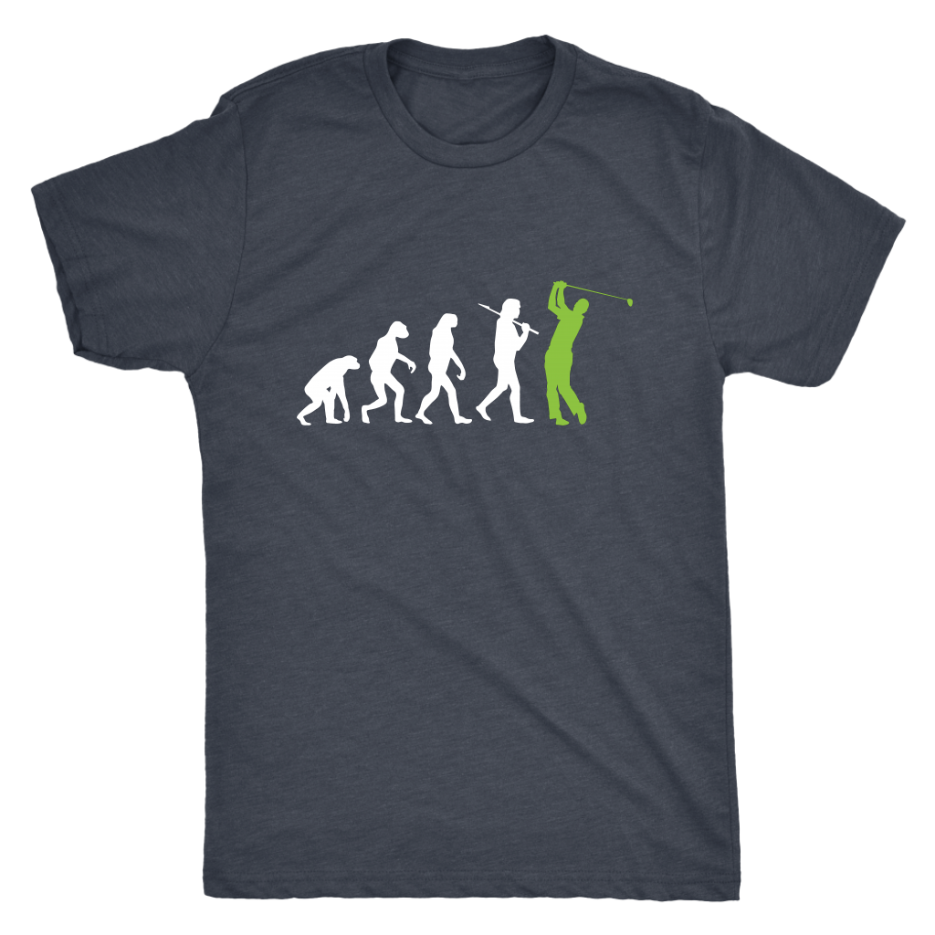 """Evolution"" - Mens Triblend Tee"