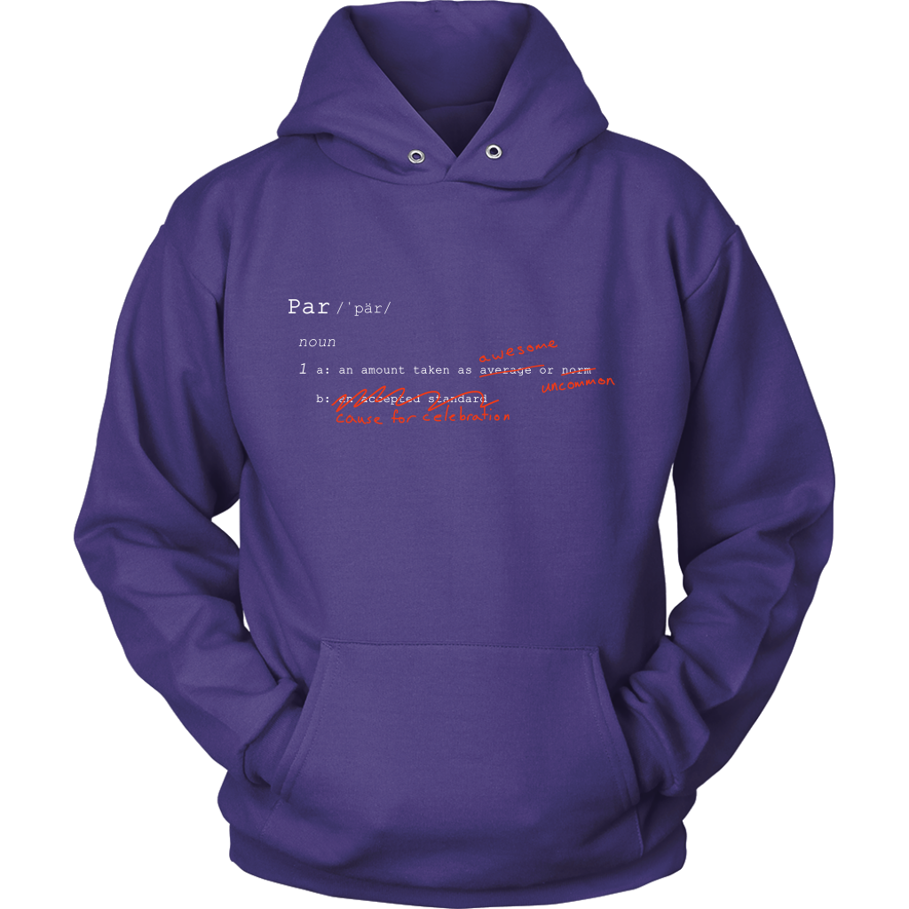 "Definition of ""Par"" - Hoodie"