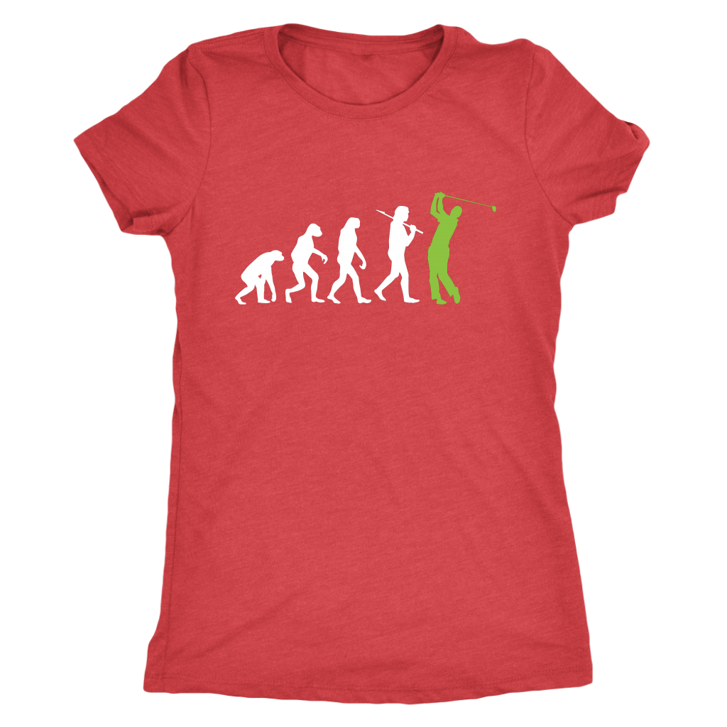 """Evolution"" - Ladies Triblend Tee"