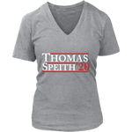 """Campaign"" - Ladies V-Neck Tee"