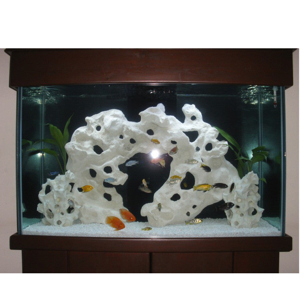 Holey Rock Aquarium Decoration