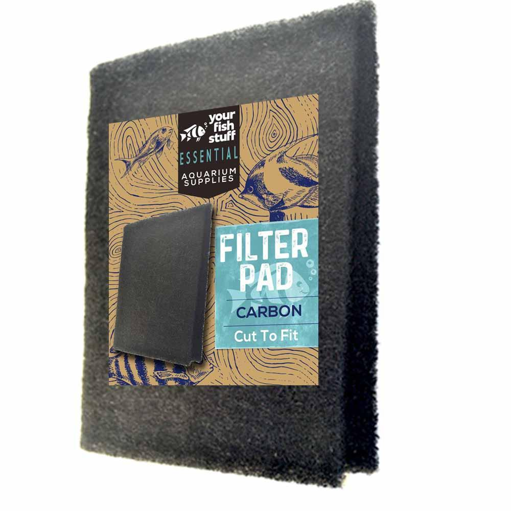 Carbon Bulk Aquarium Filter Media Pads