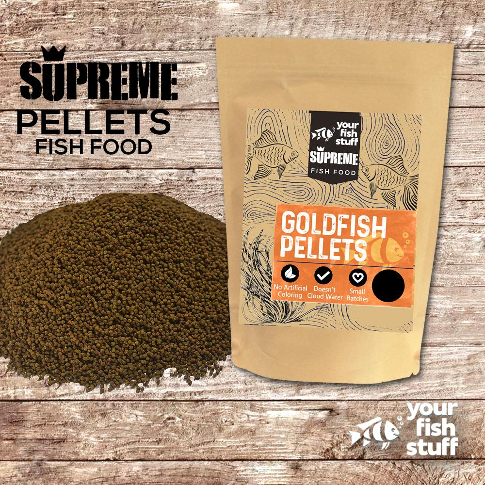 Goldfish Supreme Pellets