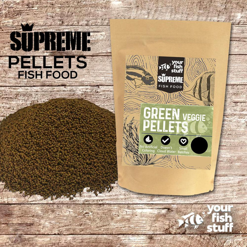 Green Supreme Veggie Pellets