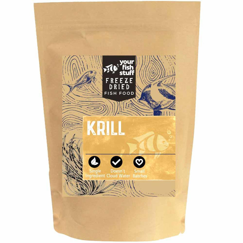 Freeze Dried Krill Fish Food