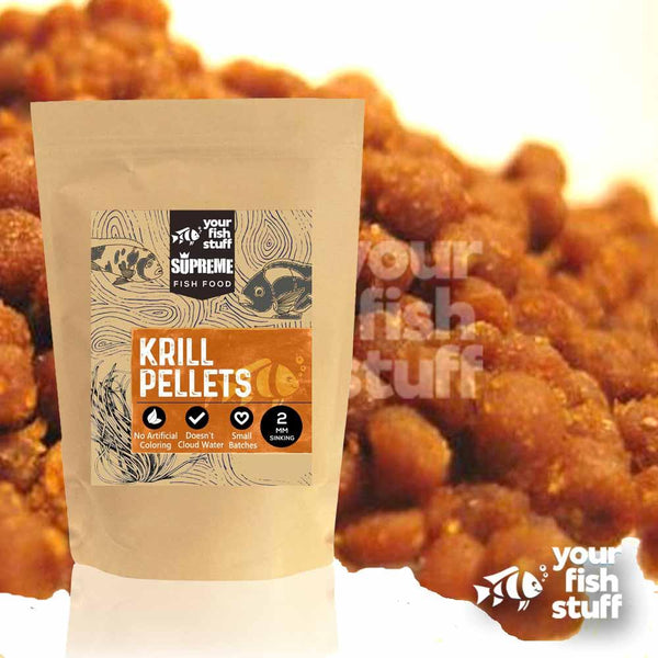 Krill Pellets Bulk Aquarium Fish Food