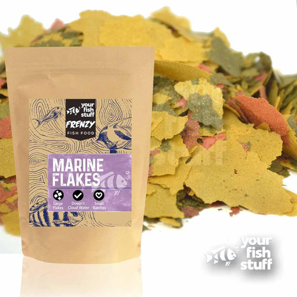 Marine Fish Flakes Bulk Aquarium Fish Food