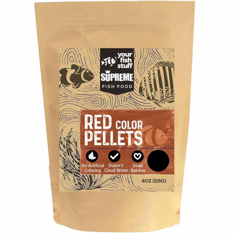 Red Supreme Color Pellets