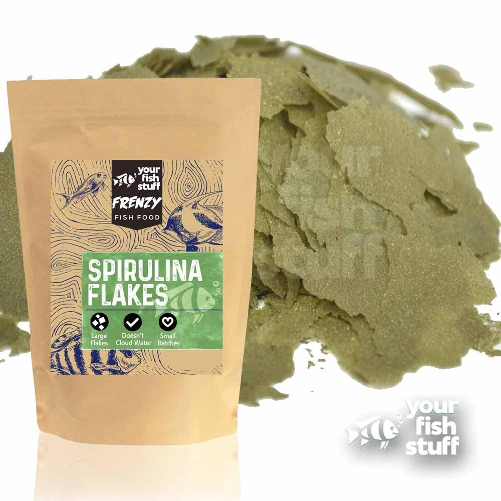 Aquacarium  Spirulina Flakes Fish Food