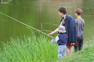 Introducing your child to Fly Fishing