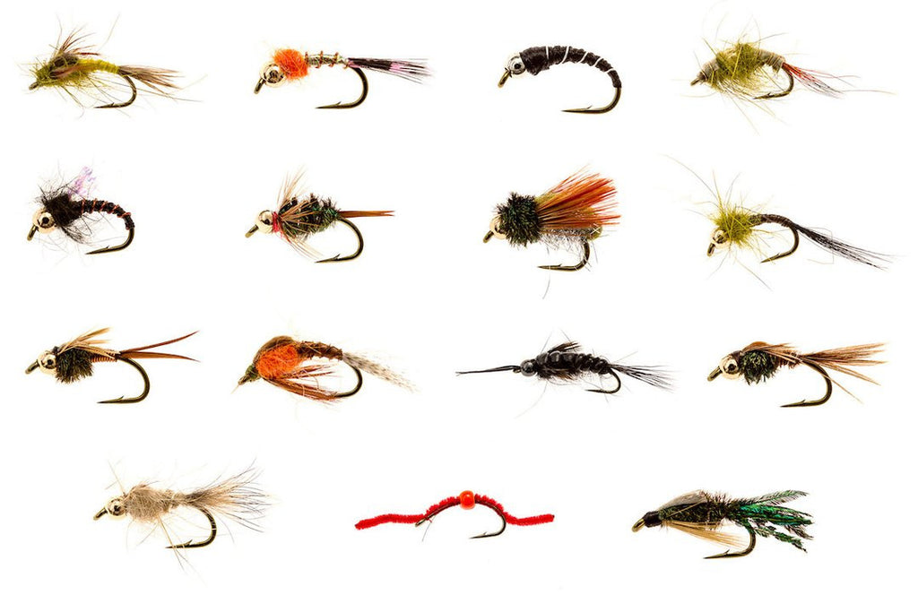 Nymph flies for catching trout!!