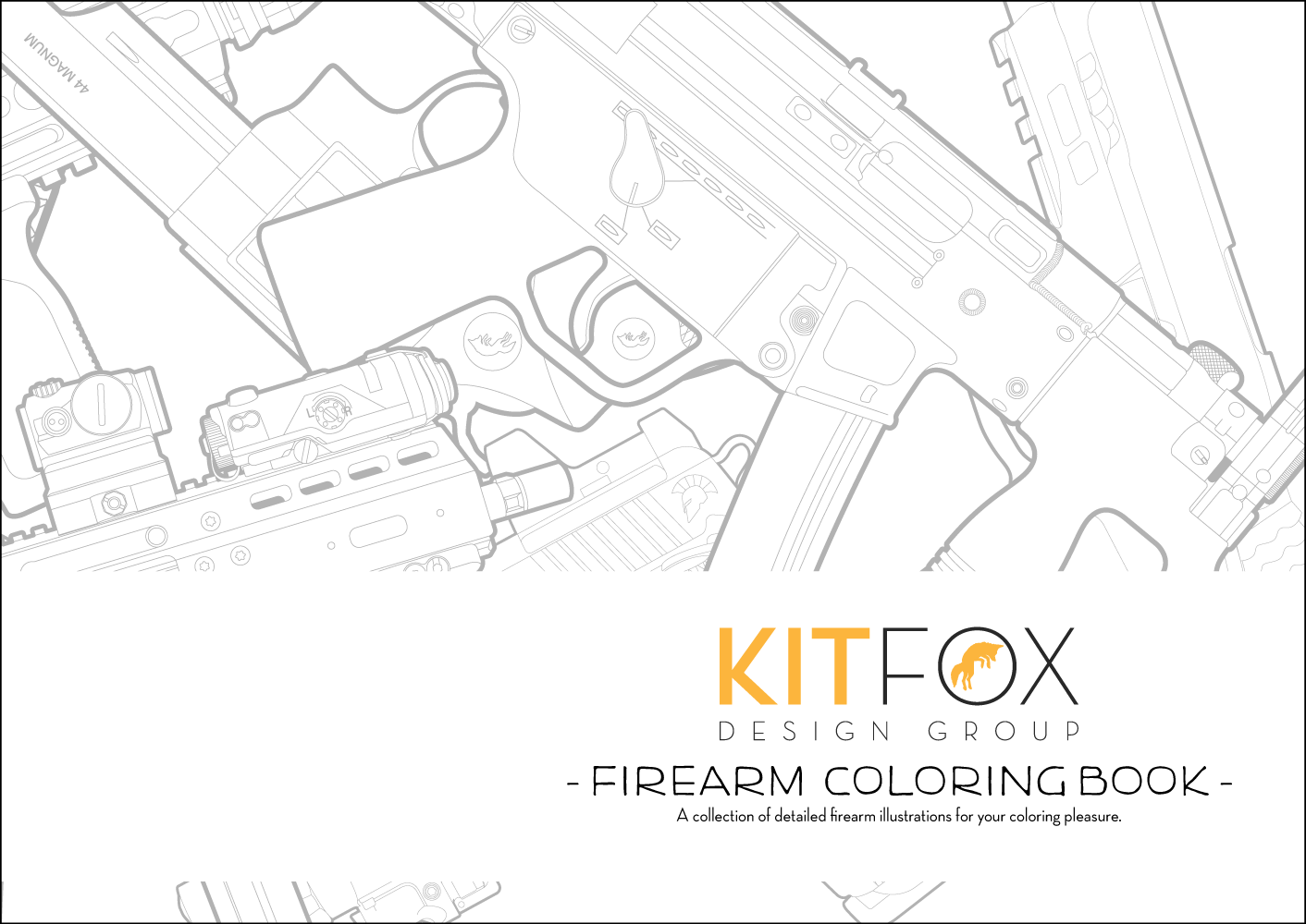 Coloring Books - Kitfox Design Group