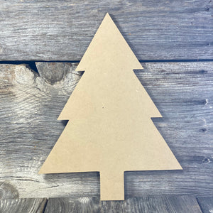 Straight Tree Cut Out Blank