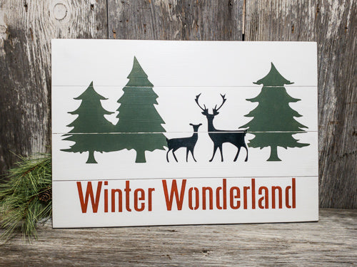 Winter Wonderland Sign - Large