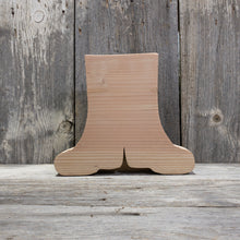 Rain Boots  Wooden Cutout with Box