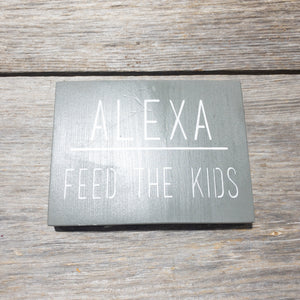 Alexa - Feed the Kids - Grey - Damaged