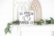 All American Pumpkin Co. - solid - 11.25""