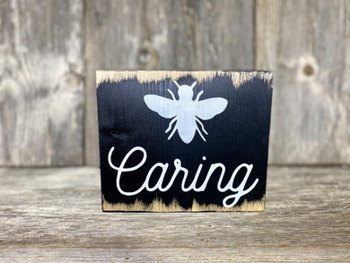 Bee Caring - dry brush - 7.25