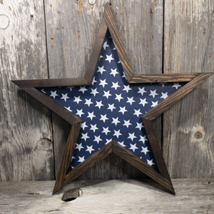 Fourth Framed Star - Blue Stars