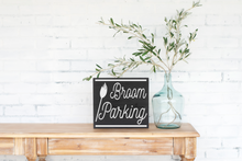 Broom Parking - solid - 11.25""
