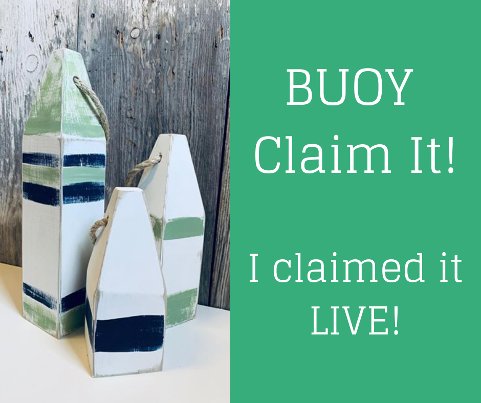 Claim it - Buoy Blue Small
