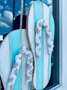 Flip Flop Door Hanger - Summer Decor