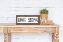 Harvest Blessings - solid - 6.5""