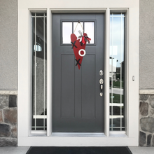 Heart and Metal Door Hanger - X O Metal