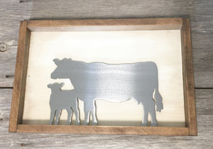 Cow/Calf Metal Frame Interchangeable