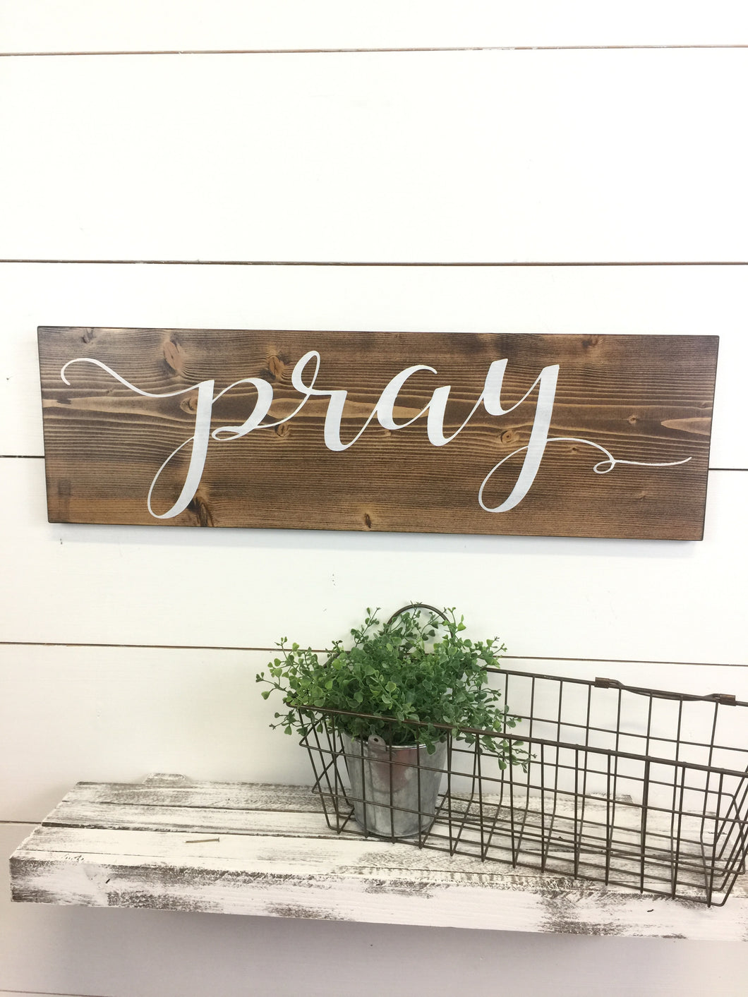 Pray Inspirational Wall Word