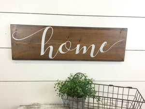 Home Inspirational Wall Word