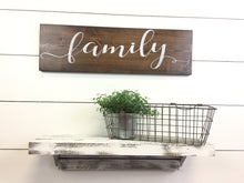 Family Inspirational Wall Word
