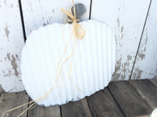 Corrugated Pumpkin